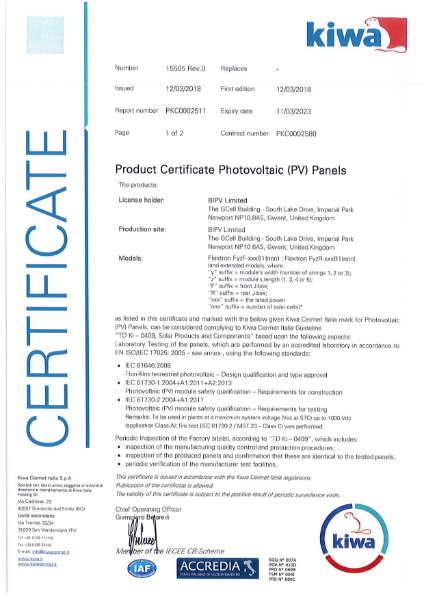 IEC 61646-61730