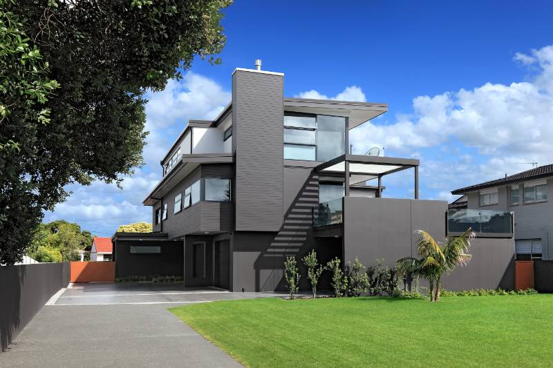 Accoya weatherboards selected for a private residence in New Zealand