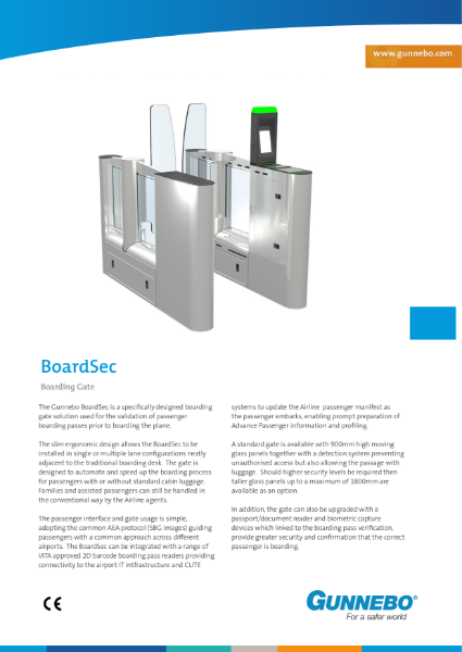 Boarding Gate - BoardSec