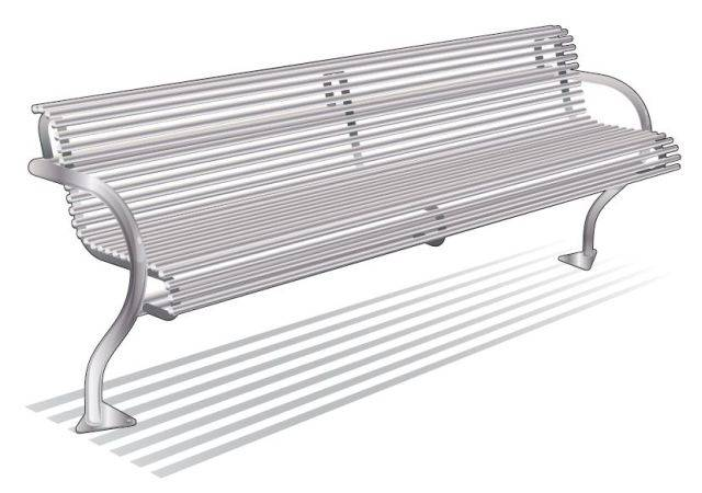 ASF 6000 Stainless Steel Seat