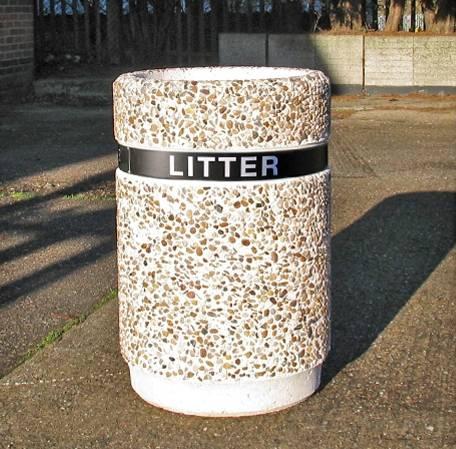 Dover Litter Bin