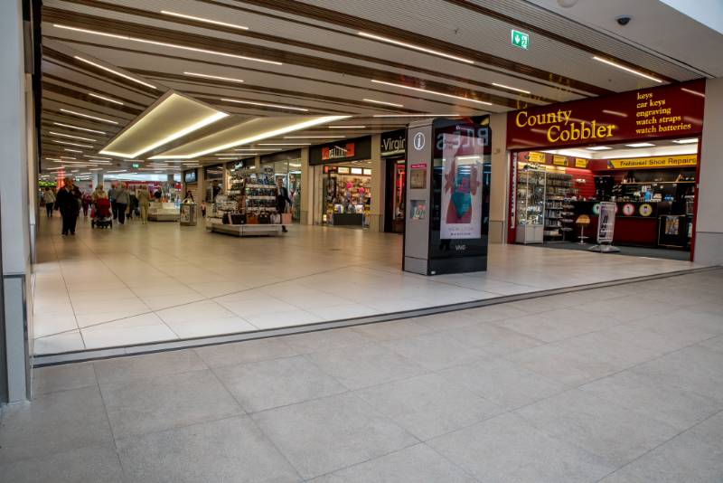 Robust Expansion Joint Cover Helps Transform Refurbished Shopping Centre