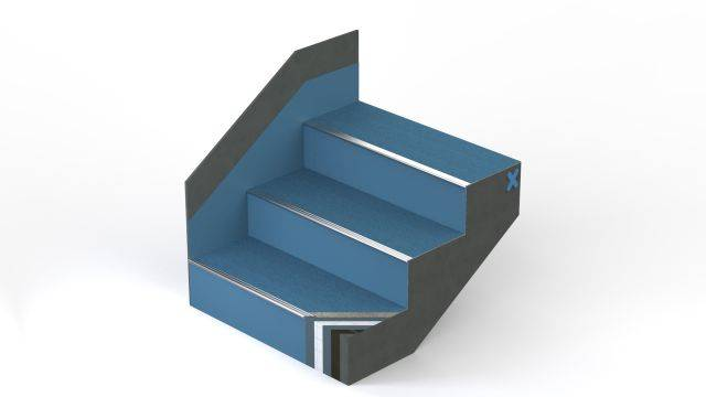 StairCoat Reinforced - Stair and Stairwell Waterproofing and Surfacing System