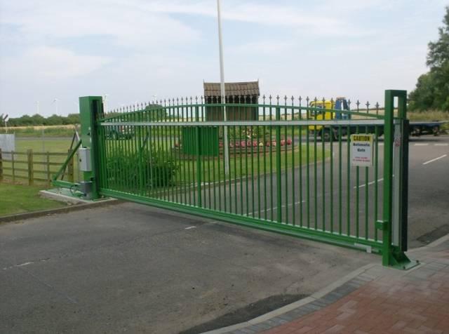 Type 3 Electric Sliding Gate