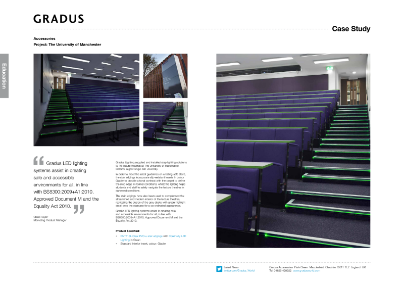 University of Manchester Lighting Case Study