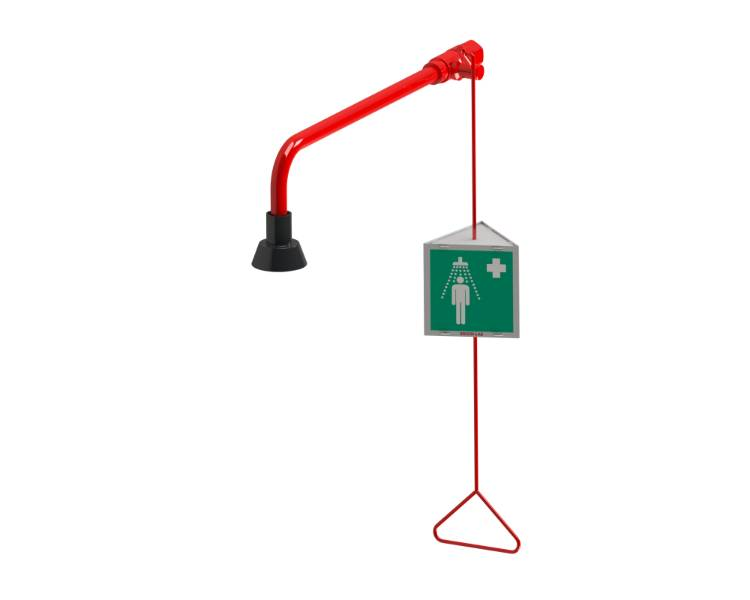 """Wall Mounted G1"""" Emergency Drench shower"""