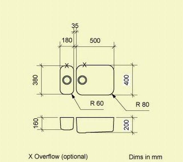 Sink Bowl K518A
