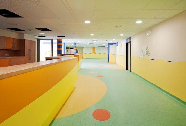 Mystique flooring installed at Marienhaus Klinikum St. Elisabeth