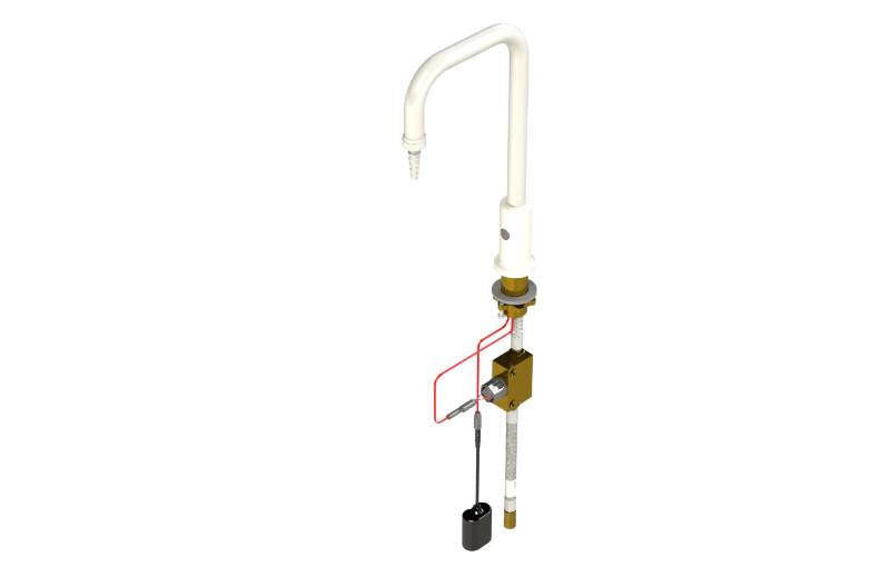 Table Mounted Laboratory Hands-free Water Tap