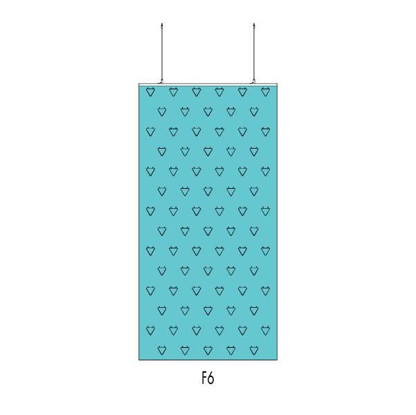 Cascade™ Folding Screen F6