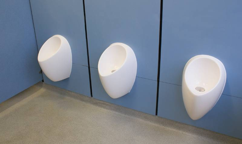 Uridan water-free urinals provide solution to water leakage at winchmore school - London