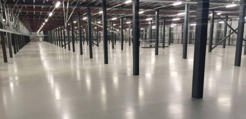Resin flooring system Resuflor Topseal