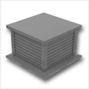 Aluminium Louvre Box 440