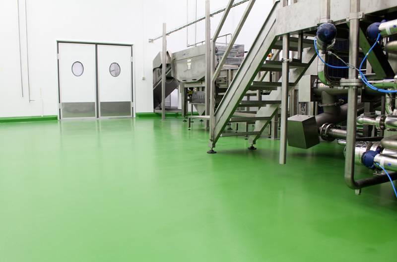 Flowfresh a brand new hygienic flooring system