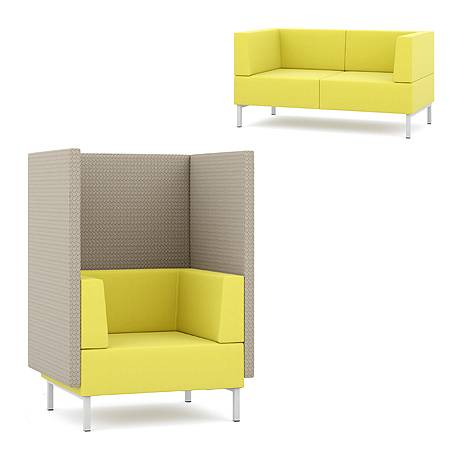 Fence - Upholstered sofa units