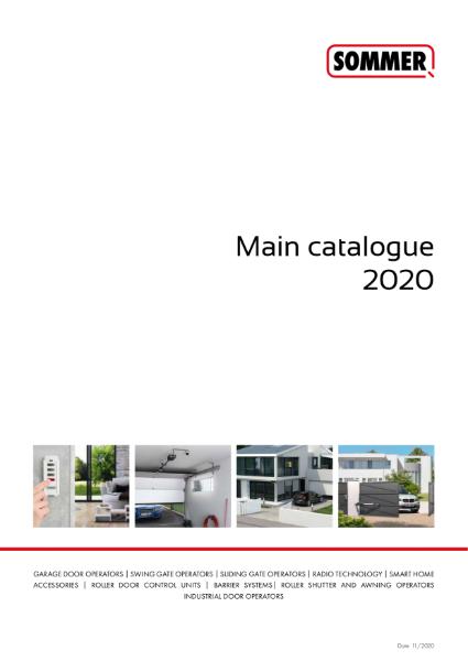 Sommer Main Catalogue