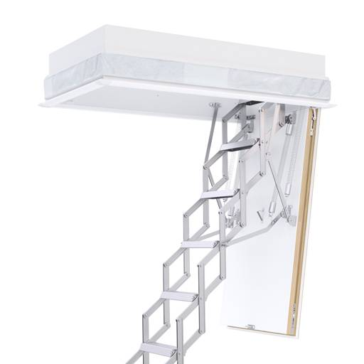 The Ecco concertina loft ladder is the ideal solution for small ceiling openings