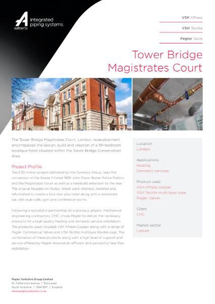 Introducing Tower Bridge Magistrates Court
