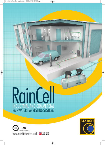 RainCell Commercial Rainwater Harvesting Product Brochure