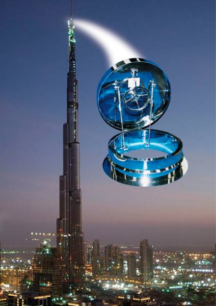 Tallest Building in the World - Access Hatch