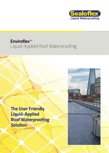Icopal Enviroflex Liquid Applied Roof Waterproofing