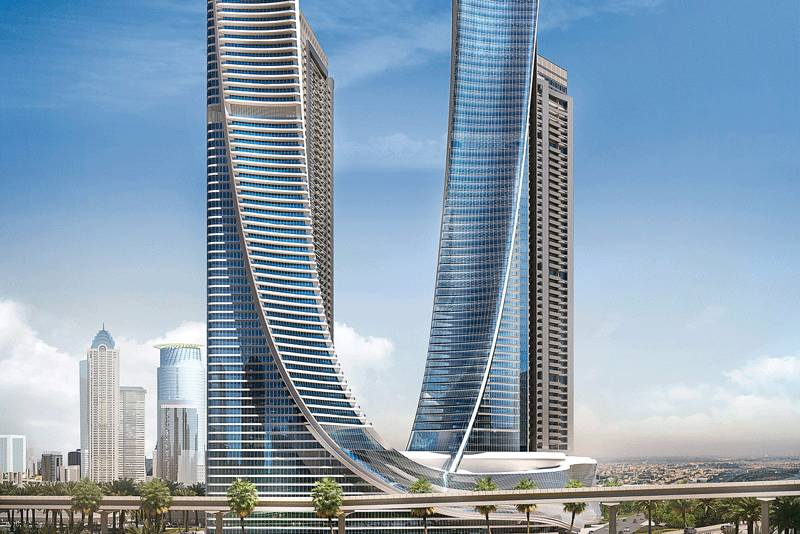 Aykon City, Dubai