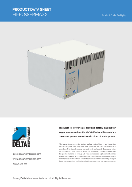 Delta Hi-PowerMaxx