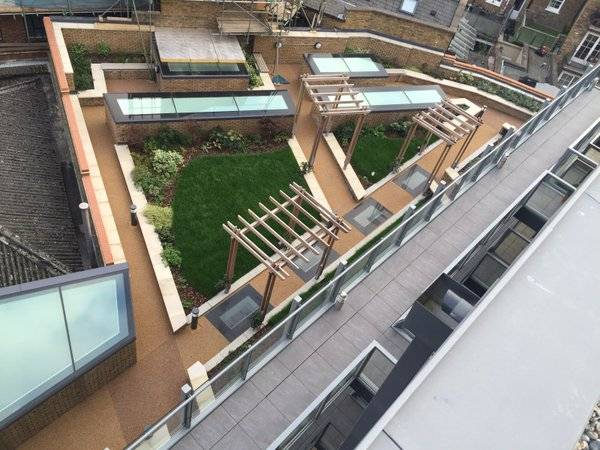 Roof Garden, Lamb Walk, Bermondsey