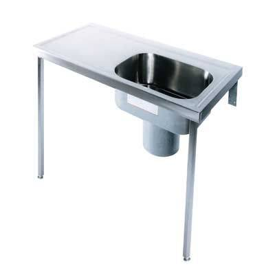 Stainless Steel Plaster Sink PS H