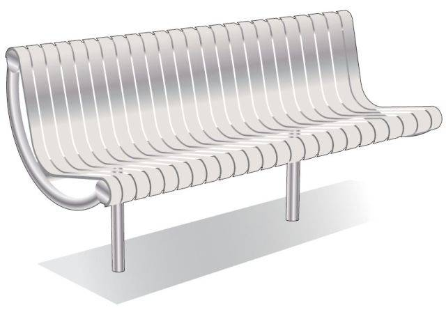 ASF 6004 Stainless Steel Seat