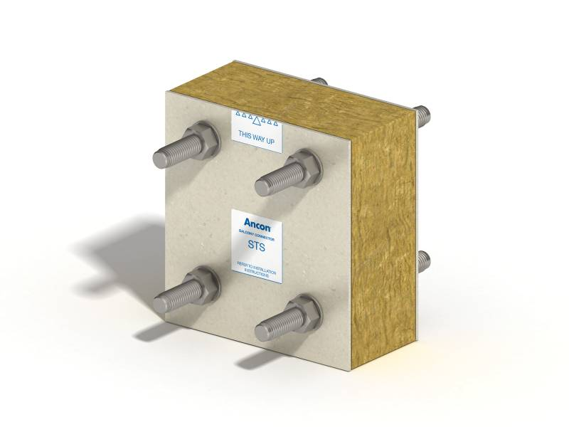 Ancon Steel To Steel Balcony Connectors