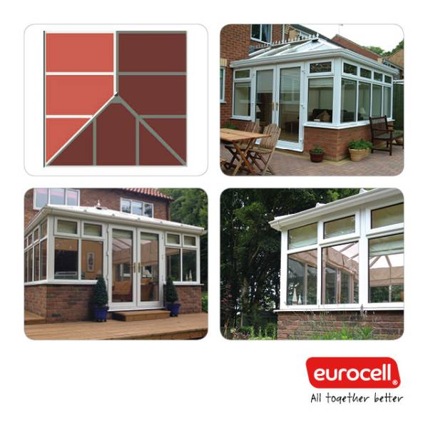 PVC-U Edwardian Style Conservatory