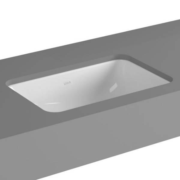 VitrA S20 Undercounter Basin, 48 cm, Square, 5475