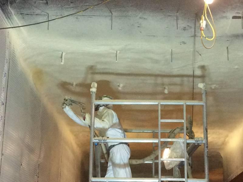 Basement Soffit - Elastospray LWP