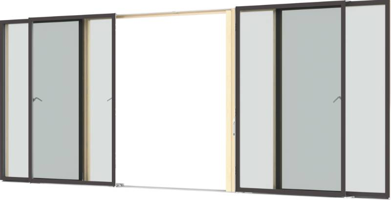 VELFAC 200 Glazed Sliding Casement Door