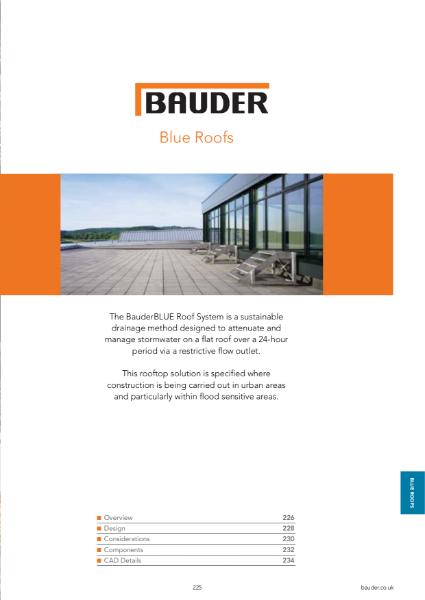 BauderBLUE systems - Bauder