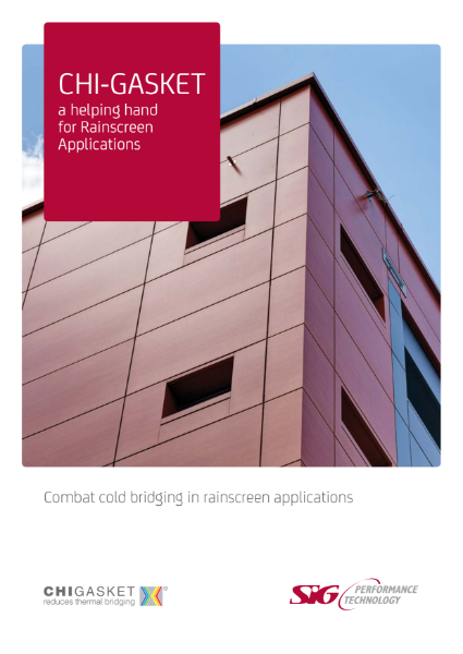 Chi-Gasket - a helping hand for rainscreen applications Brochure
