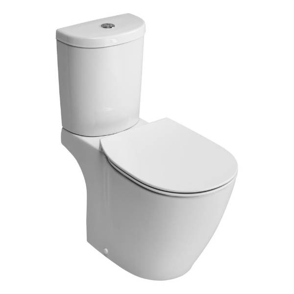 Santorini Ellipse Closed Coupled WC Suitewith Aquablade technology
