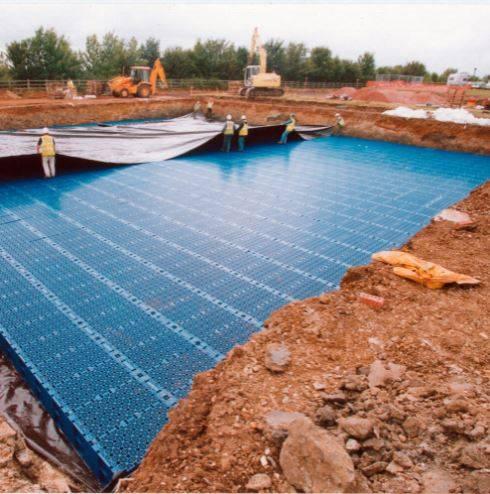 Visqueen Ultimate Hydrocarbon Urban Drainage Geomembrane (UDG)