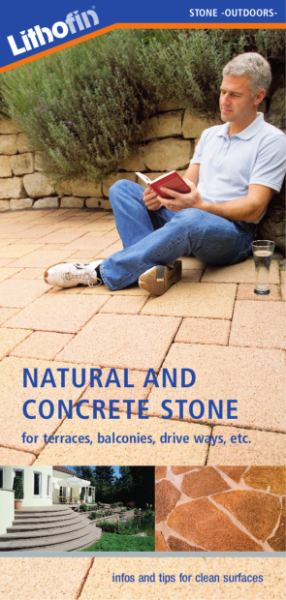 Natural and Concrete Stone Maintenance Guide: For External Surfaces