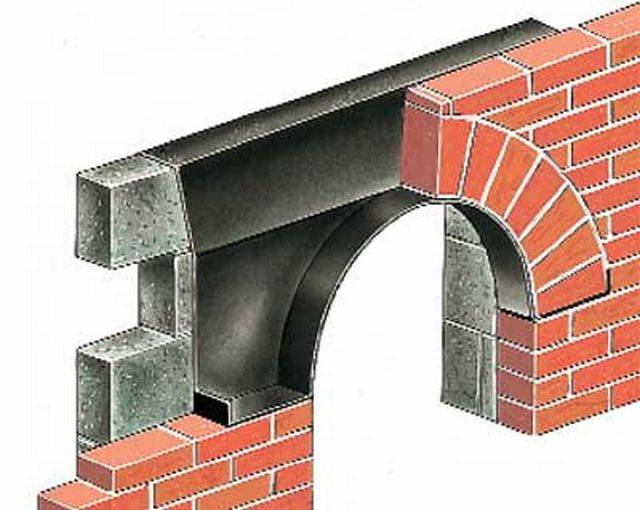 Arch Window Cavity Tray