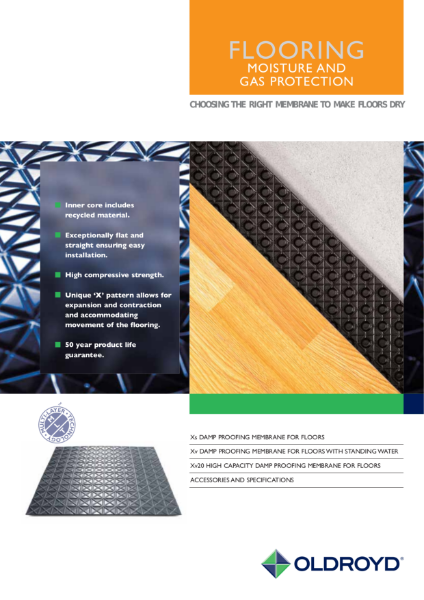 Flooring - Moisture and Gas Protection