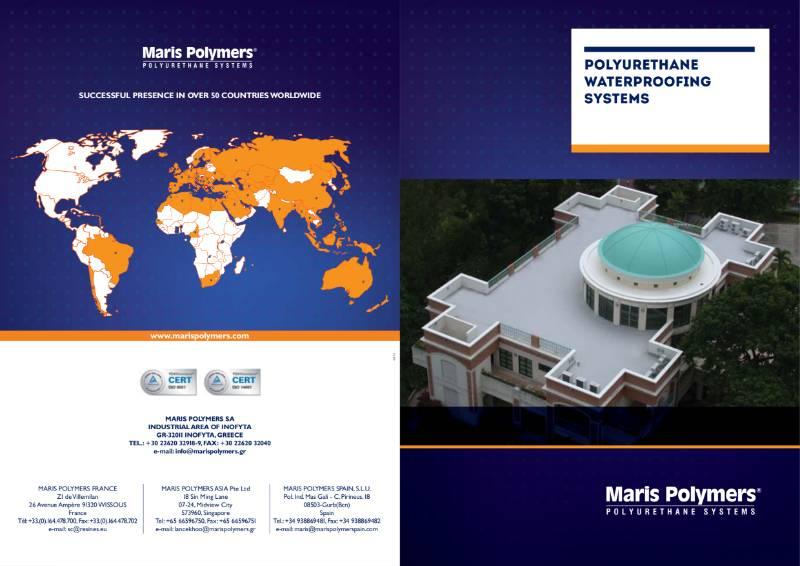 Maris Polymers Liquid Applied Waterproofing Brochure