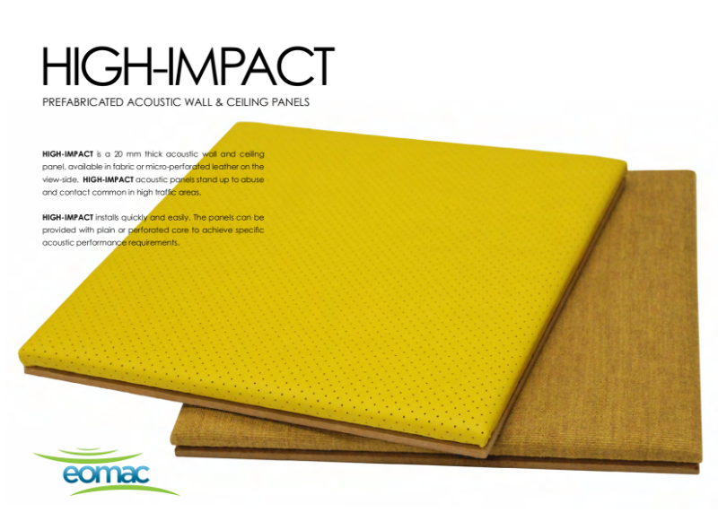 High-Impact Acoustic Panel