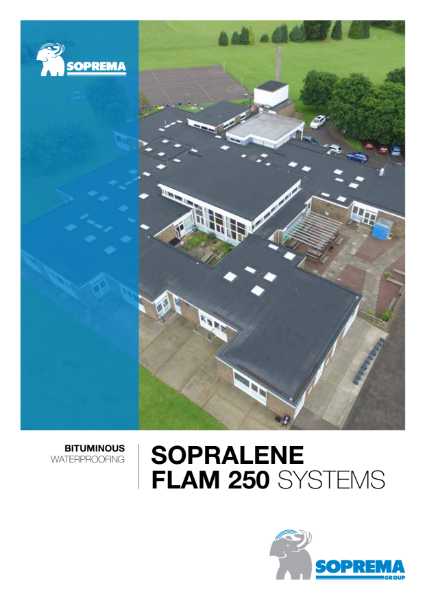 Sopralene Flam Bituminous Waterproofing Systems