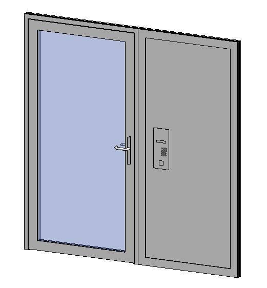 Premier Vision - Single Door + Side Panel