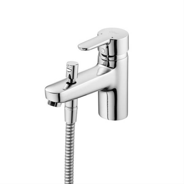 Concept Bath Shower Mixer 1 Hole with Shower Set