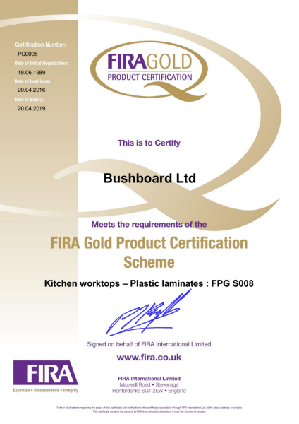 FIRA Membership Certificate