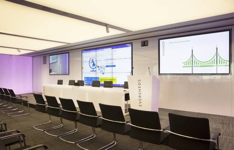 Eversheds Auditorium Audiovisual Upgrade Maximizes Flexibility of a Multi-Purpose Space