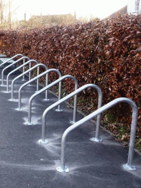 Frankton Cycle Stand - Galvanized Steel